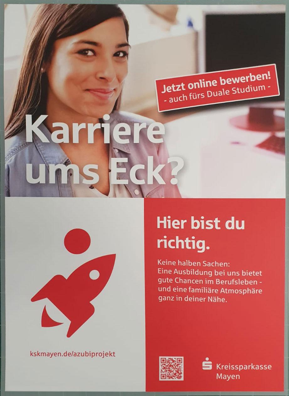 Ausbildung Kreissparkasse Mayer